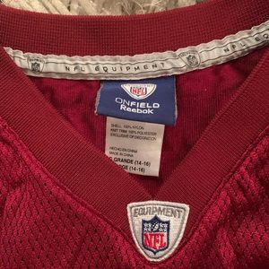 Reebok Tops - Redskins Jersey